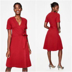 Boden Mira Ponte Wrap Dress (Size 10 LONG)